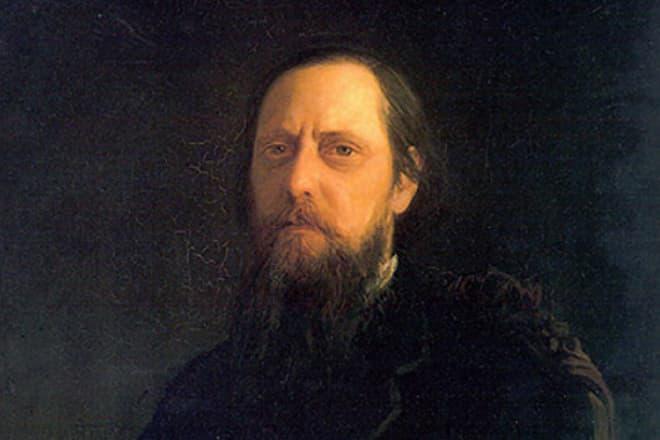 Портрет Михаила Салтыкова-Щедрина